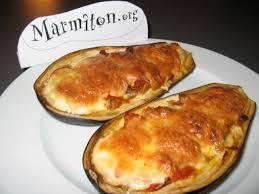 marmitons recettes cuisine aubergines gratinées recette aubergines marmiton et mozzarella