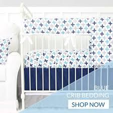 Baby Boy Blue Crib Bedding by Boy Crib Sets Caden Lane