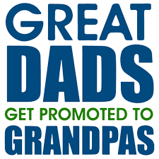 great dads get promoted to great dads get promoted to grandpas t shirt