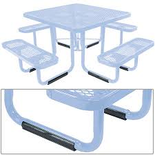 leisure craft picnic tables leisure craft inc bar restaurant furniture tables chairs and
