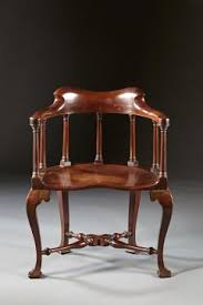 Windsor Armchairs A Rare Pairing Of Extraordinary George Ii English Walnut Windsor
