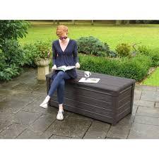 Keter Plastic Keter Gray Deck Box Deks Decoration