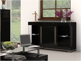 25 best collection of black sideboard with glass doors