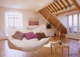 15 suspended lounging spaces seats daybeds hammocks swings