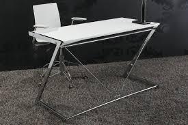 designer schreibtisch wei design schreibtisch zoom hochglanz weiss 125cm dunord shop