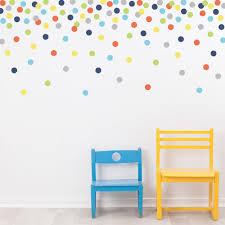 121 polka dot wall decals navy orange green gray yellow eco 121 polka dot wall decals navy orange green gray blue yellow eco friendly peel