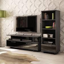South Shore Shelf Bookcase South Shore Reflekt Tv Stand In Gray Oak 4337677