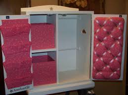18 inch doll storage cabinet american doll armoire going to hack this idea for sure