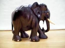 wooden elephant ebay