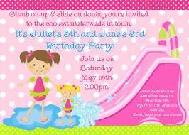 girls birthday party invites images invitation design ideas