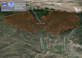 Wildfire Map Noaa by Hayden Pass Burn Scar Decision Support Information Page
