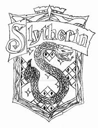 gryffindor crest coloring page harry potter basilisk coloring