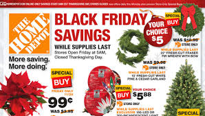 depot black friday 2014 ad is released