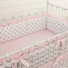 Chevron Print Bedding Set Bedroom Navy And Pink Baby Bedding Nursery Cot Bedding Sets