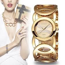 bracelet luxury crystal images Luxury crystal gold watches women fashion bracelet quartz watch jpg