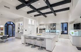 carrara marble kitchen island 27 beautiful white contemporary kitchen designs designing idea