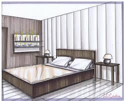 dessin chambre chambre perspective idées de décoration capreol us
