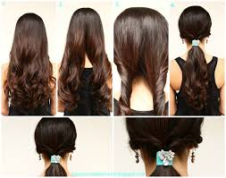 Easy Hairstyle For Girls by Easy Hairstyle For Girls At Home Best Hairstyle Photos On
