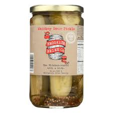 amazon com nyc deli pickles by brooklyn brine 24 ounce dill