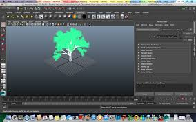 Displacement Map After Effects Lab Animation Growing A Tree In Maya