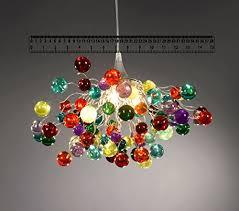 multi colored light fixture multicolor bubble chandelier pendant lshade ceiling light