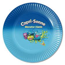 grossiste vaisselle jetable ligne assiette en carton personnalisée cadeau publicitaire grossiste