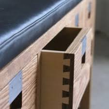 oak storage benches foter