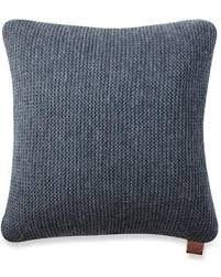sale ugg pebble knit square throw pillow in navy
