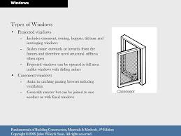 Inswing Awning Windows Windows 18 Windows And Doors Ppt Video Online Download