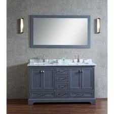 Sense Of Vanity Stufurhome 36 Inch Malibu Grey Single Sink Bathroom Vanity Grey