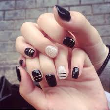 short black nails promotion shop for promotional short black nails