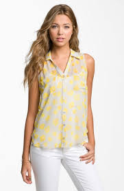 sleeveless blouses 45 best sleeveless blouse style images on sleeveless