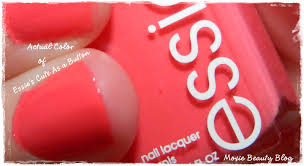 essie cute as a button nail polish gorgeous pinky coral for