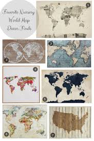 World Map Posters by Best 20 World Map Wall Art Ideas On Pinterest Travel