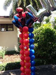 21 best spiderman images on pinterest balloon decorations