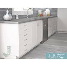 kitchen base cabinet adjustable legs j collection shaker assembled 30x34 5x24 in 3 drawer base