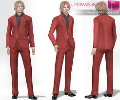 mens valentines day mi rigged mesh men s s day suit meli imako