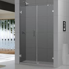 bathroom frameless shower door handle opaque shower glass