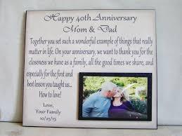 40th wedding anniversary gift ideas top 15 words memorable ideas for wedding anniversary gifts 40th