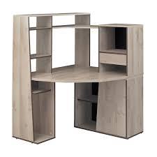 bureau avec rangement intégré meuble bureau angle petit bureau avec rangement