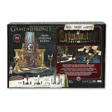 game of thrones playset building iron throne room 314 pieces