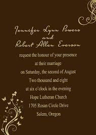 Hollywood Invitation Card Fall Wedding Invitations Autumn Wedding Invites