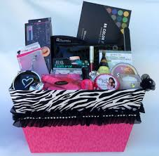 makeup gift baskets deluxe zebra sparkle gift basket gift giving ideas