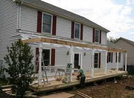 building a porch deck