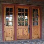 Exterior Pine Doors Wood Exterior Doors Photo Gallery Homestead Doors The