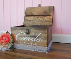 wedding card box sayings wedding card box large rustic personalized painted wooden card