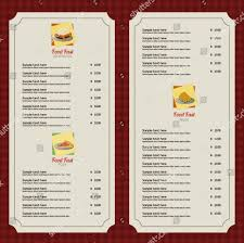blank menu templates 29 blank menu templates editable psd ai format free