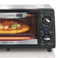 Black Decker To1322sbd Toaster Oven 4 Slice Eventoast Technology Hamilton Beach 4 Slice Capacity Energy Saving Toaster Oven Black