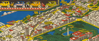 Map Of New York And Manhattan by This Illustrated 1926 Map Of Manhattan Shows The City As It Was