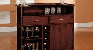Home Bar Cabinet Ideas Bar Furniture Curved Black Wooden Bar Cabinet With Glass Doors